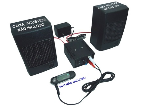 amplificador de audio deltronica